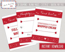 Ideas For Boyfriend Coupons Valentines Coupons Him Knight Coupons