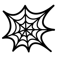 Image result for noun project icon spider web