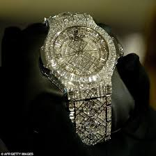 a 5m price tag and 1 292 diamonds is this the world s most hublot