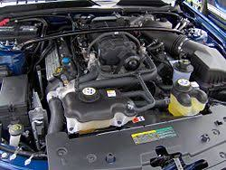 ford modular engine 5 4 l 4 valve dohc supercharged v8 installed in a 2007 ford shelby gt500