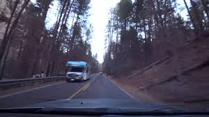 scenic drive from sedona to coconino national forest