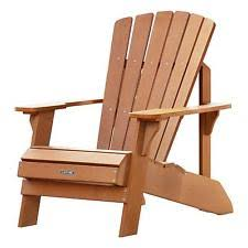 wood patio chairs. Lifetime Adirondack Chair 60064 Simulated Wood Patio Furniture Chairs L