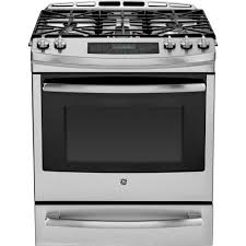 Gas Range With Gas Oven Warming Drawer Single Oven Gas Ranges Gas Ranges The Home Depot