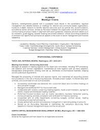 Comfortable Events Manager Resume Gallery Example Resume Ideas