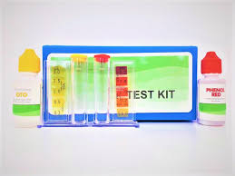 Oto Chlorine Test Color Chart Swimming Pool Water Test Kit W Color Chart
