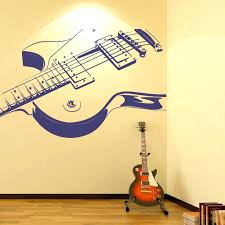 guitar wall decor electric hanging bracket bass guitar wall decor