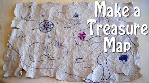 Design A Treasure Map Activity How To Make A Treasure Map Easy Even For Slow Pirates