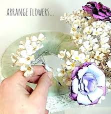 Paper Flower Centerpieces At Wedding How To Make Paper Flowers For Wedding Decorations Paper