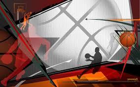 animated basketball wallpaper