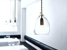 clear glass kitchen pendant lights kitchen pendant lights lovely the northern pendant light clear glass