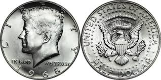 1967 Kennedy Half Dollar Value Chart 1968 D Kennedy Half Dollar Value Coin Helpu