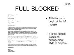 Ideas Of Semi Block Letter Definition On Resume Letter Meaning With