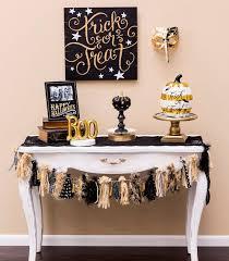 and gold halloween decor ideas