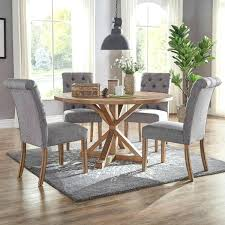 white fabric dining chairs ss light gray