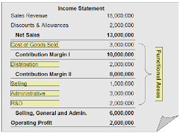 Sample Income Statement Stunning Single Step And Multiple Step Income Statements