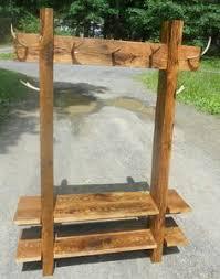 Diy Antler Coat Rack Pallet real treedeer antlers shelf hatcoat rack diy projects 43