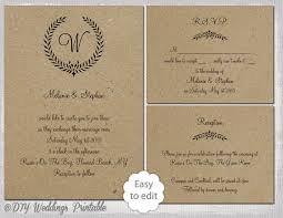 invitation t party and birthday invitation rustic wedding invitation templates