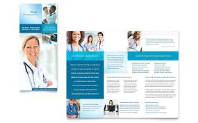 Trifold Template For Word Medical Office Brochure Templates Medical Billing Coding Tri Fold