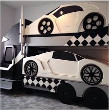 car bunk beds for boys. Brilliant Bunk 31 Cute Car Beds To Drive Your Kids Dreamland And Bunk For Boys
