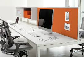 IdeaPaint's POWDER Desk surfaces become writable .