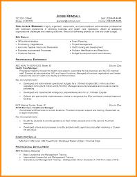 8 Sample Resume For Healthcare Azzurra Castle Grenada