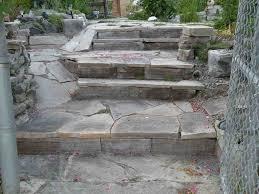 Modern Concrete Block Stairs