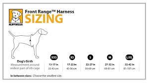 Ruffwear Harness Size Guide