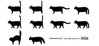 動物のシルエット素材 シルエットデザイン