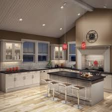 Vaulted ceiling kitchen lighting Slope Ceiling Awesome Kitchen Lighting Vaulted Ceiling Beautiful Cabinets Vaulted Ceilings Track Lighting Cathedral Ceiling Kitchen Island Skylights Parawhenuainfo Vaulted Ceiling Kitchen Lighting Captivating Ideas Modular Homes