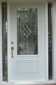 fiberglass doors vs wood front door glass inserts prehung