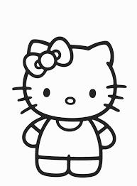 Hello Kitty 3 Disegni Da Colorare Gratis Disegni Da Colorare E
