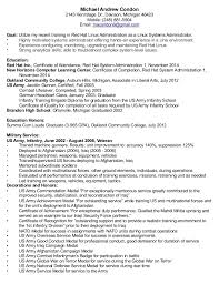 Linux System Administration Sample Resume 6 Administrator Objective