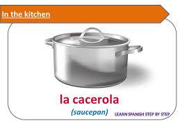 spanish lesson 66 kitchen la cocina furniture utensils