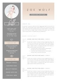 Resume Template 5pages Dolce Vita Dolce Vita Template And