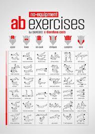 Inspiration Fitness Motivation No Equipment Ab Exercises