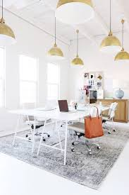 bright office. Ultimate Office - Bright Whites, Brass Subtle Luxe Details | Workspace Inspiration Musings On