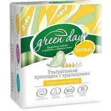 Прокладки <b>GREEN DAY</b> - <b>Гигиенические прокладки</b> и тампоны