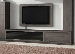 contemporary 2 drawer and glass door tv unit by baixmoduls thumbnail