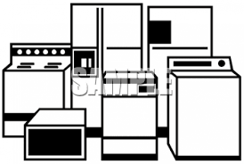 dishwasher clipart black and white. dishwasher repairs clip art clipart black and white
