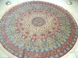 4 foot square rug round