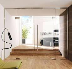 frameless glass doors interior clear glass partition wall with glass double doors frameless sliding glass doors