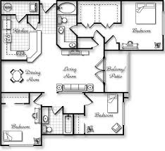 Three Bedroom Apartments Denver Unique On Intended For Amazing Floor Plans 2