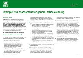 Colorful Cleaning Risk Assessment Template Image - Resume Ideas ...