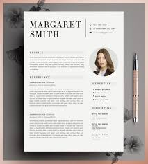 Etsy Resume Template Fascinating Teacher Resume Resume Template 28 Page Resume CV Template Etsy