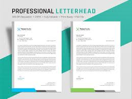 What Is Professional Letterhead Letterhead Design By Md Mithun Ali On Dribbble