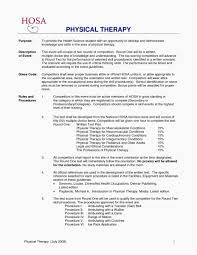 Occupational Therapy Resume Mesmerizing Physical Therapy Resume Examples Complex Occupational Therapy