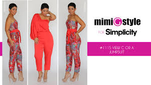 Simplicity Jumpsuit Pattern Beauteous How To Sew The Mimi G Style For Simplicity Pattern 48 Tutorial