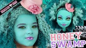 monster high makeup videos monster high honey sw doll makeup tutorial for or