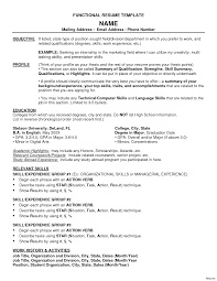 Functional Resume Format Functional Resume Format Sample 100a Teacher Templates Samples 28