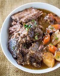 ultimate slow cooker pot roast dinner